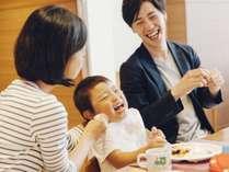 家族で楽しい時間が過ごせるフジヤマテラスのブッフェ