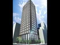 【外観】地上20Fの新ランドマークホテル