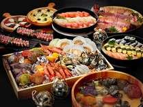 【プレミアムバイキング】地元の新鮮な食材を中心としたメニュー ※イメージ画像