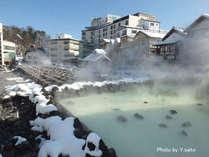 学生さん限定!卒業旅行にもピッタリ♪平日限定格安プラン!厳冬の草津温泉で外湯巡りを満喫しませんか?
