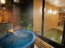 《檜風呂》最近人気の壷のお風呂です