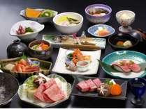 A5等級3種の食べ比べ☆飛騨ごっつぉプラン一例
