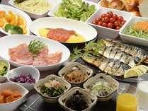 【朝食バイキング】シェフによる手作りの和洋様々なヘルシーバイキング★たくさん食べて今日も一日頑張ろう