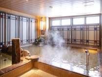 【女性】天然温泉内風呂 (約41~42℃)