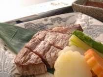一番人気!柔らかい「世羅牛のヒレステーキ」
