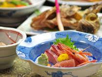 日本海の鮮魚&山の幸には自信あり!8400円