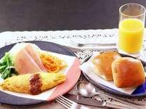 *洋朝食-朝しっかり食べて元気にいってらっしゃい♪