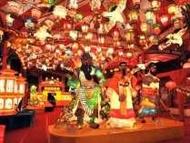 ランタンフェスティバル(湊公園の装飾)