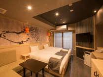*【部屋一例】ツインルーム/シャワールーム付の角部屋。