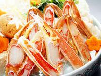 ★やっぱりお刺身が好き♪地魚刺身盛り合わせとセイコガニ付プラン★
