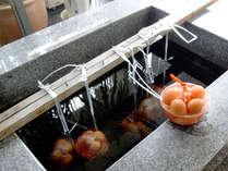 【温泉卵】二時間かけて作る当館自慢の温泉卵はとろとろで美味!