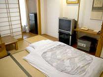【和室シングル一例】お1人様専用和室なので、ちょうどいい広さが落ち着きます♪
