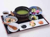 *【朝食:茶がゆセット】起きたての体にやさしい茶がゆです。
