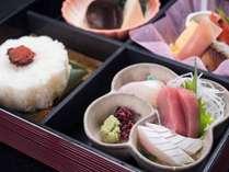 *【松花堂コース一例】食べやすく彩りも鮮やかで人気です♪