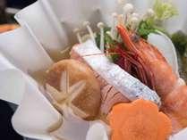 *【月替わり会席一例】旬の食材を使ったお料理。当館の料理人が1つ1つ丁寧にお作り致します。