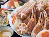 *【蟹ちりコース一例】冬の味覚、うまみたっぷりの蟹を存分に味わえる蟹ちり。