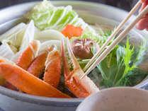 【かに鍋】蟹のエキスがじゅわ~っと染み出たカニ鍋は〆まで美味♪