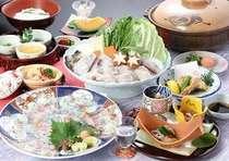 ※てっさ・鍋・雑炊の材料は2人前です。