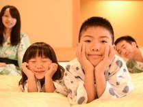 【ファミリー限定】添い寝で新客室がお得♪セミダブルベッド2台をパパ・ママ・お子様で♪
