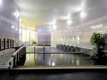 【大浴場】雙津峡温泉のお湯は肌にやさしく、特に女性に人気