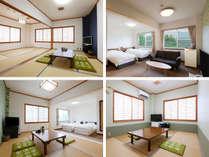 選べる7タイプの客室
