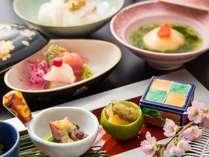 【日本料理なにわ・夜桜懐石】大切な人の春のお祝いに。