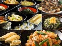 【和洋ビュッフェ朝食】和惣菜のメニューも豊富にご用意。