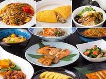 【和洋ビュッフェ朝食】広島らしさにこだわったメニューも豊富。