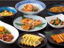 【和洋ビュッフェ朝食】和惣菜も豊富にご用意。