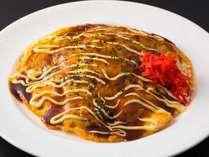 【和洋ビュッフェ朝食】広島と言えばお好み焼き。