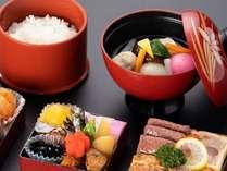 おせち朝食(お雑煮イメージ)