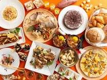 旬の食材を使った秋の味覚を多数ご用意。