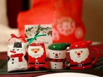 【ファミリークリスマスプラン特典】お子様が喜ぶ可愛いクリスマスグッズ。