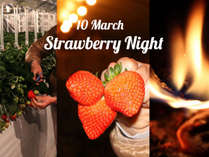 3月10日限定!星空と静寂に包まれたロマンチックな飛鳥の夜を!夕食、朝食、夜のイチゴ狩り付きプラン!