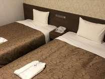 エコノミーツインはベッド2台で最大4名様までご利用できます。