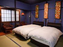 金沢独特の文化である群青色の壁