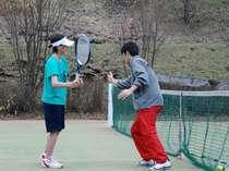 【プライベートレッスン2時間付】高原でテニスプラン♪
