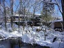 【外観/冬】四季の移ろいを愛でる愉しみ・・・