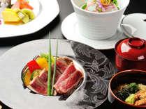 黒毛和牛ステーキ会席膳(期間限定プラン)