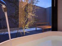 【特別室】ビューバスツインルーム/バスルーム