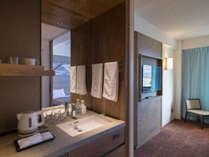 【一般客室】スタンダードツインルーム/洗面台