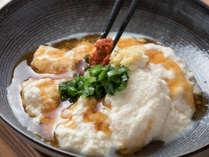 【料理】おぼろ豆腐