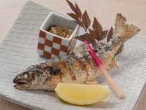 【料理】岩魚塩焼き