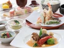 【料理】高千穂野菜の煮物と天婦羅