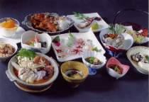 お料理の一例です。プランや季節により変わります。