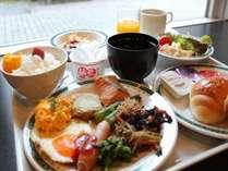 和洋食バイキングをご準備しております!