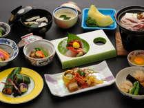 【かも川コース】冬のお料理一例