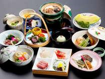 【春のかも川コース】春メニューの一例♪京都に来たら…京会席を!楽しんでください