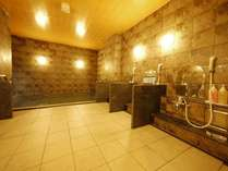 男女別ラジウム人工温泉大浴場「旅人の湯」館内1F 利用時間15:00~10:00・5:00~9:00