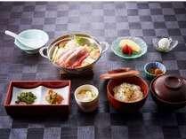 いの豚鍋定食19